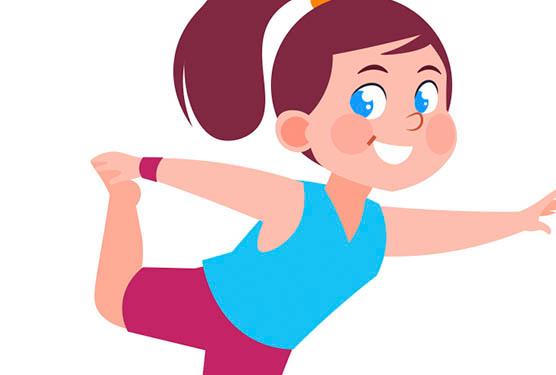 Yoga infantil de activación
