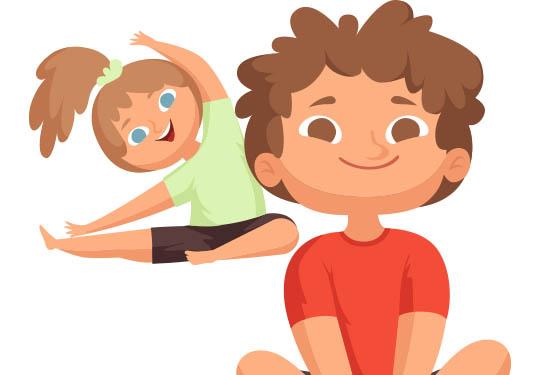 Yoga infantil de relajación