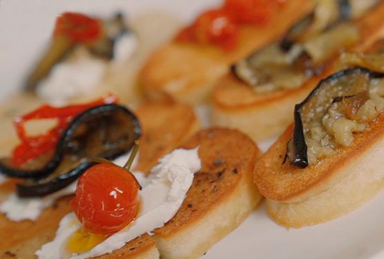 El Arte de Comer Sano: Crostinis