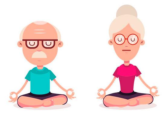 Yoga para el adulto mayor