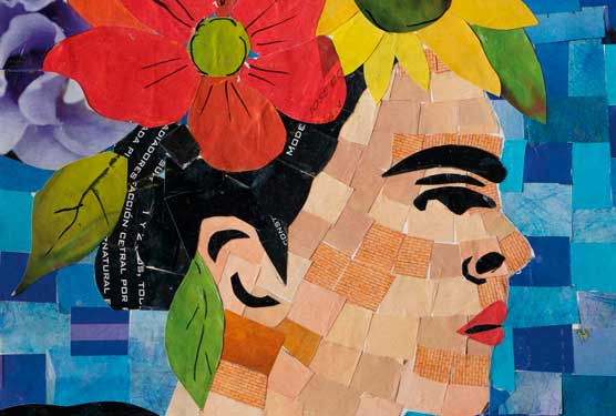 Taller de mosaicos de papel